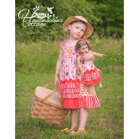 Dolly and Me Picnic Petticoats PDF Pattern Set - Handmaiden's Cottage
