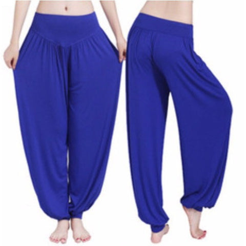 Ali Baba Yoga Pants.  Chill out and relax. Lots of colors.