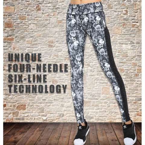Hot! High Quality Printed Yoga Pants - 2 Designs
