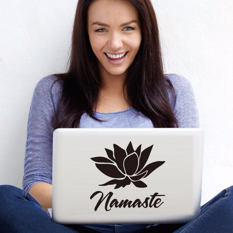 A Great Laptop or Wall Namaste Sticker -Get $5 OFF