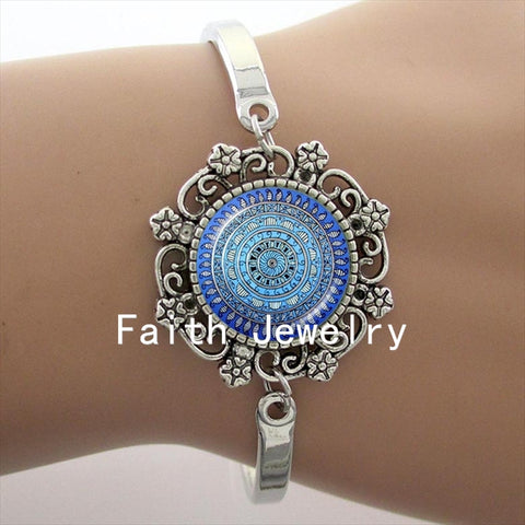 Eye catching and delicate Blue Zen Yoga Bracelet