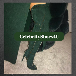 Booties Spike - CelebrityShoes4U