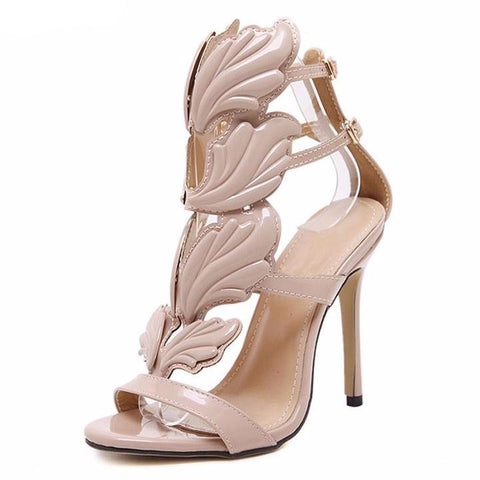 Winged Leaves - CelebrityShoes4U