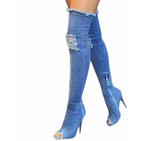 Double Denim - CelebrityShoes4U