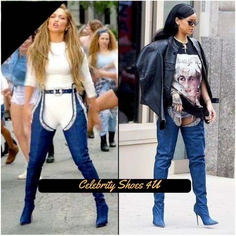 Denim Chaps - CelebrityShoes4U