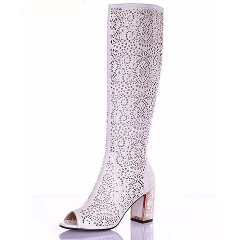 CutOut Boots - CelebrityShoes4U