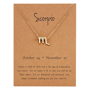 Horoscope Charm Necklace