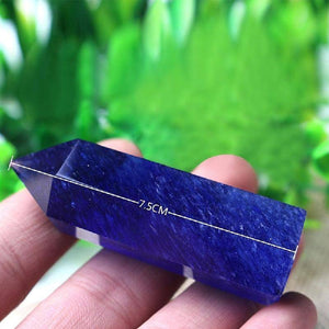 Energetic Healthy Me Crystals Blue Quartz, Beautiful!