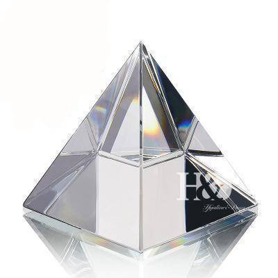Energetic Healthy Me Figurines & Miniatures Pyramid Of The Universe Clear 1