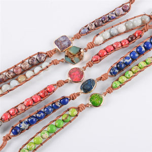 Energetic Healthy Me Stone Bracelets Adventure Is Out There Adventure Set (5pcs)