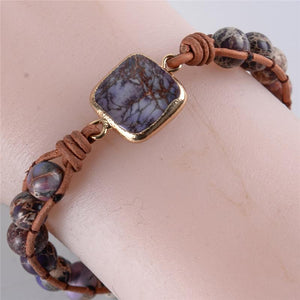 Energetic Healthy Me Stone Bracelets Adventure Is Out There Blue Adventure