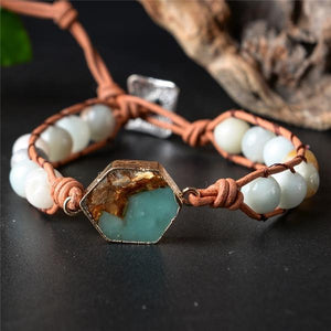 Energetic Healthy Me Stone Bracelets Adventure Is Out There White Adventure
