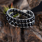 Energetic Healthy Me Stone Bracelets 'Always With Me' Bracelets Black Only