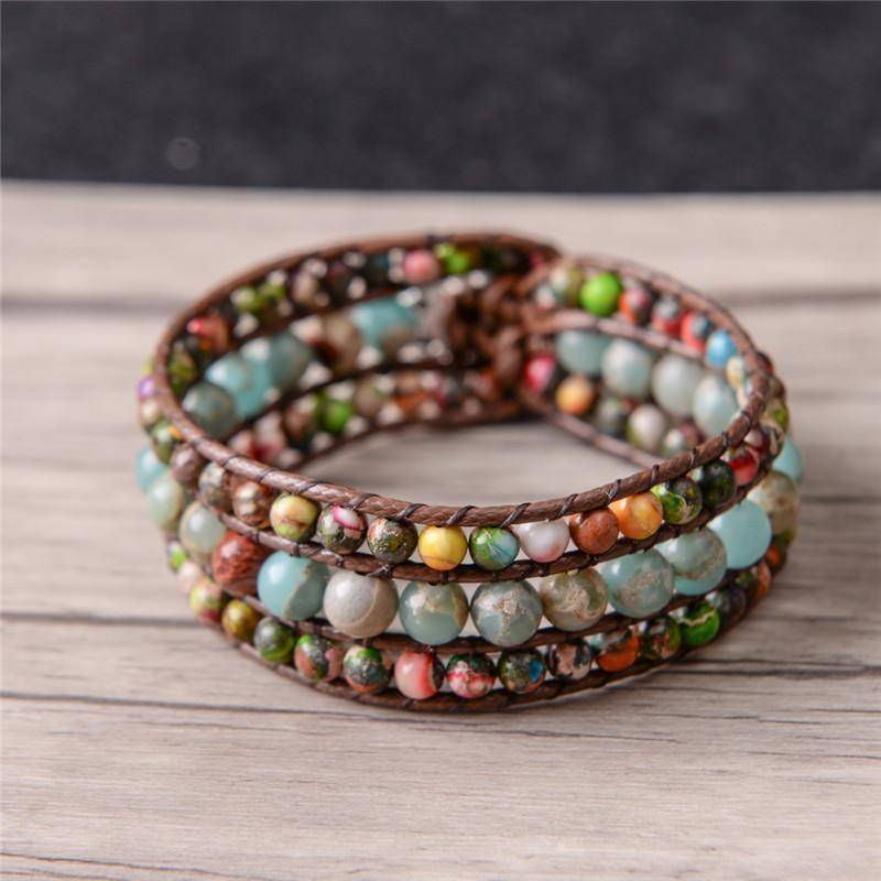 Energetic Healthy Me Stone Bracelets Controlled Chaos