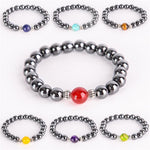 Energetic Healthy Me Stone Bracelets Energetic Chakra Set All 7 Pieces