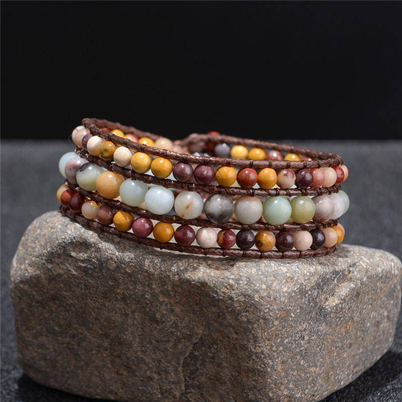 Energetic Healthy Me Stone Bracelets Exquisite Soul