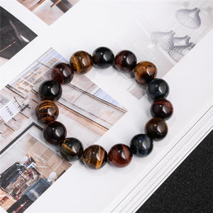 Energetic Healthy Me Stone Bracelets Eye of the Tiger