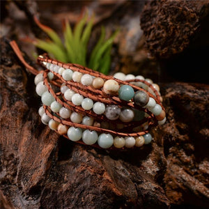 Energetic Healthy Me Stone Bracelets Galaxy Quest