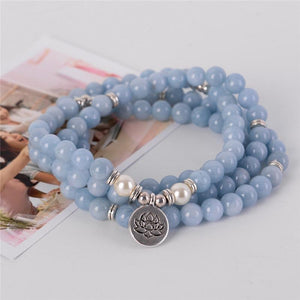 Energetic Healthy Me Stone Bracelets Graceful Lotus