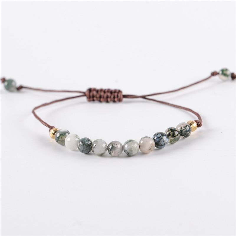 Energetic Healthy Me Stone Bracelets Grounded & Centered
