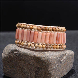 Energetic Healthy Me Stone Bracelets Guava Goddess