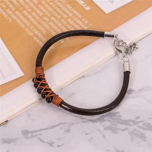 Energetic Healthy Me Stone Bracelets Happy Dance Midnight Black