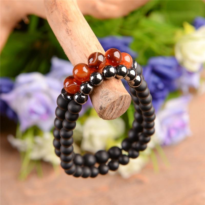 Energetic Healthy Me Stone Bracelets Passion and Peace