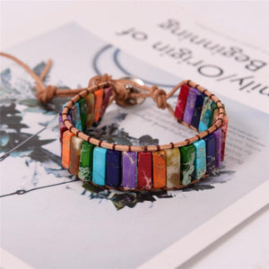 Energetic Healthy Me Stone Bracelets Soothing Chakra Power Bracelet