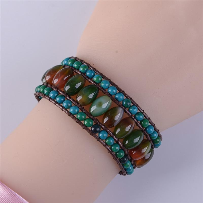 Energetic Healthy Me Stone Bracelets The Chameleon