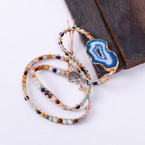 Energetic Healthy Me Stone Bracelets Waters Reflection