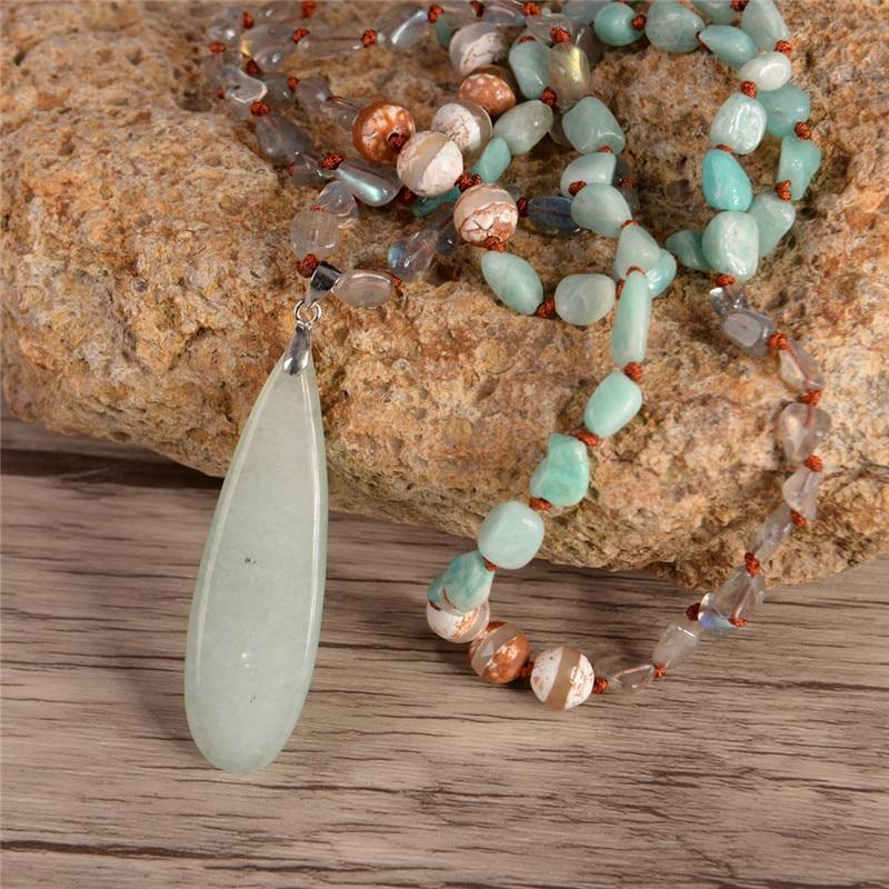 Energetic Healthy Me Stone Necklaces Let It Go