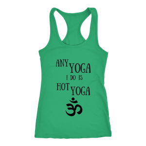 teelaunch T-Shirts Hottie Yoga Tank Green / XS