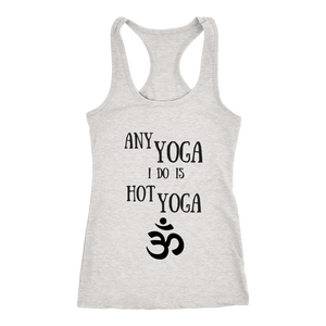 teelaunch T-Shirts Hottie Yoga Tank Grey / XS