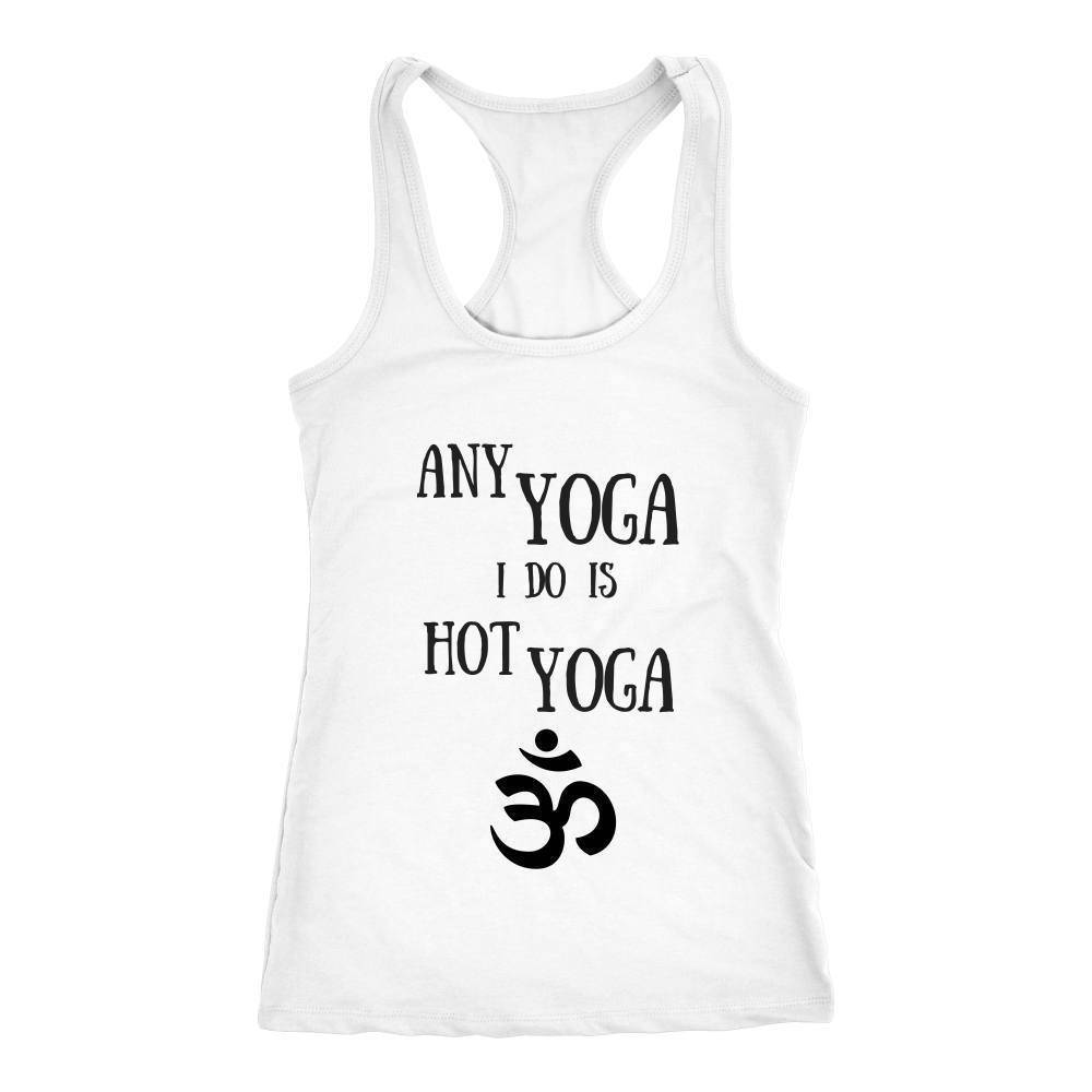 teelaunch T-Shirts Hottie Yoga Tank White / XS