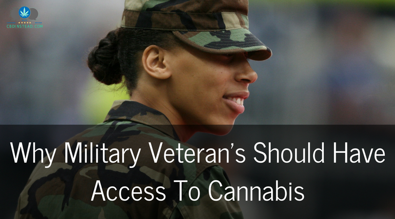 Why Military Veterans Should Have Access To Cannabis