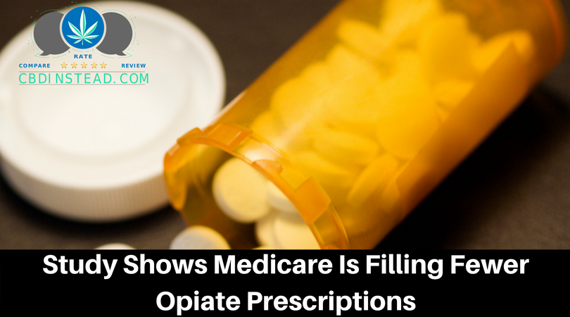 Study Shows Medicare Is Filling Less Opiate Prescriptions