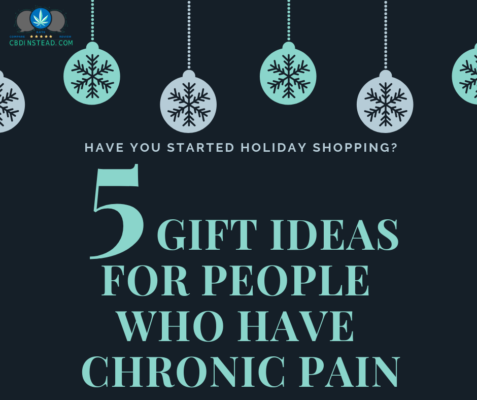 5 Gift Ideas For People Who Have Chronic Pain