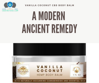 Vanilla Coconut CBD Body Balm: A Modern Ancient Remedy