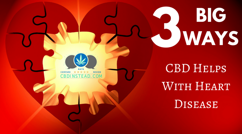 3 Big Ways CBD Helps With Heart Disease