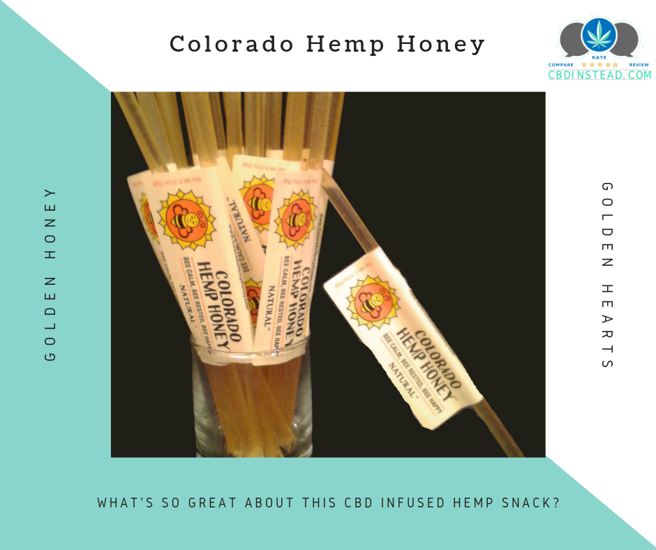 Feel Your Best with Colorado Hemp Honey Sticks