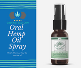 Oral Hemp CBD Spray: What's It For And How Do You Use It?