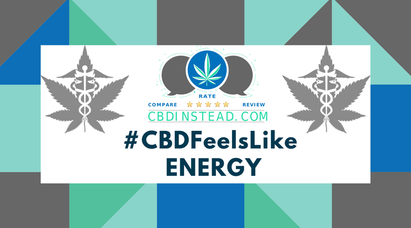 CBD Oil for Energy? You Betchya! #CBDFeelsLike: Energy