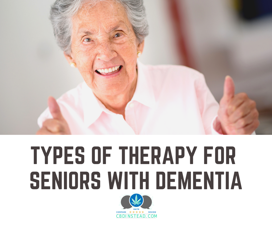 Types Of Therapy For Seniors With Dementia