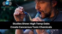Studies Show: High Temp Dabs Create Cancerous Toxic Chemicals