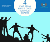 4 Ways Being Kind Is Good For Your Health