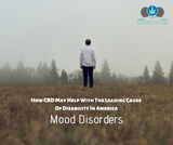 How CBD May Help With The Leading Cause Of Disability In America- Mood Disorders