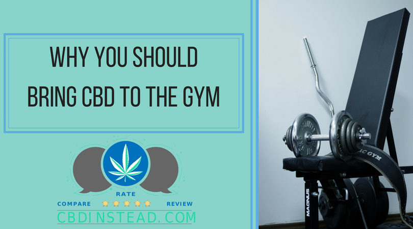Why You Should Bring CBD To The Gym