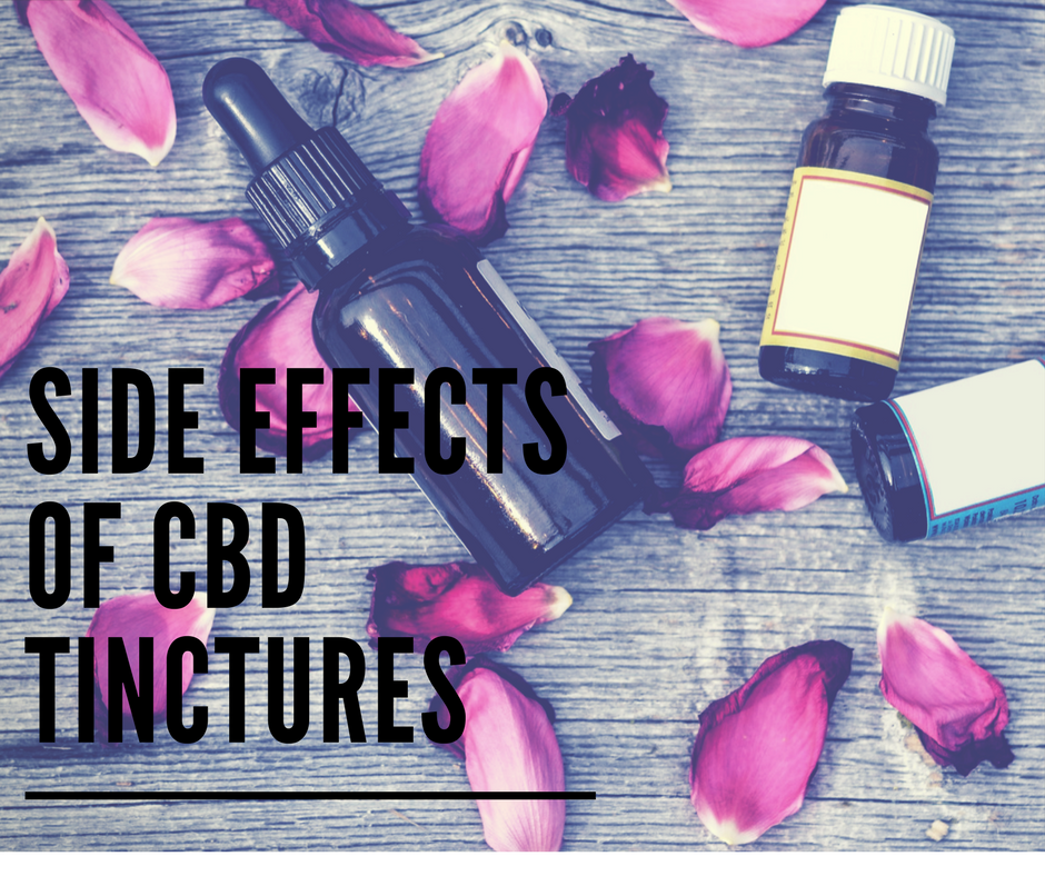 Side Effects of CBD Tinctures