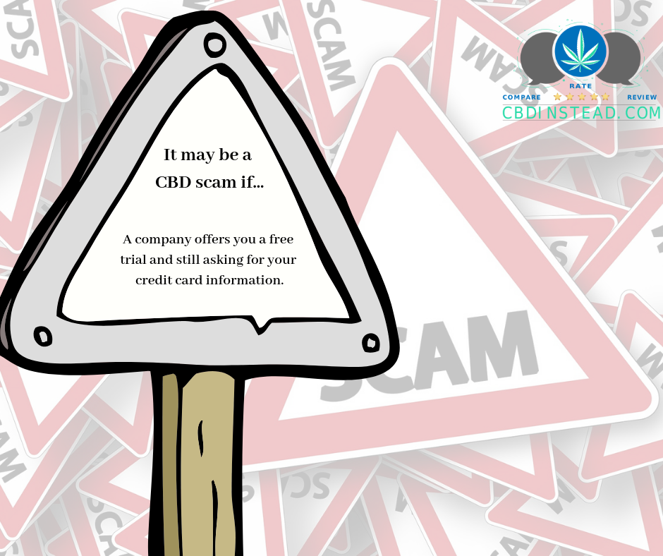 Common Signs of a CBD Scam – CBD Instead