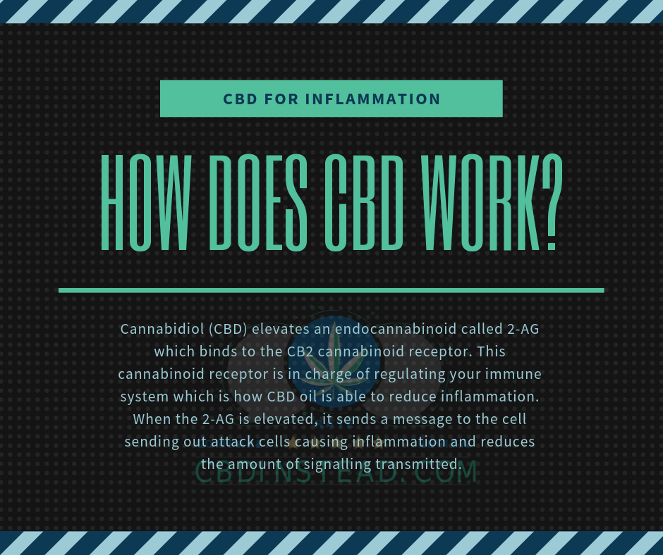 How CBD Can Help Reduce Inflammation